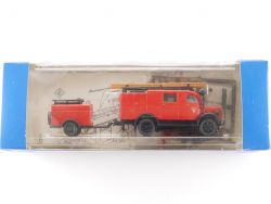Roco 1335 Mercedes MB L 1500 S LF 8 Feuerwehr H0 1:87 OVP