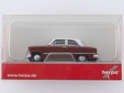 Herpa 024686 Modellauto Ford Taunus 12 M Weltkugel 1:87  OVP ST