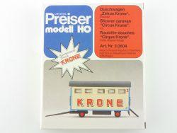 Preiser 3.0604 Duschwagen Zirkus Krone Bausatz Circus 1:87 OVP SG