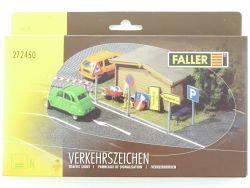 Faller 272450 Verkehrszeichen Bausatz Kit Spur N 1:160 OVP