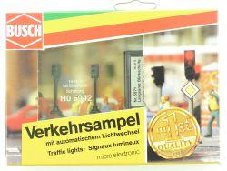 Busch 5942 Verkehrsampel autom. Lichtwechsel Elektronik H0 OVP