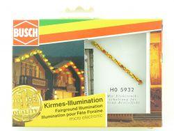 Busch 5932 Kirmes Illumination Beleuchtung Rummelplatz H0 OVP ST