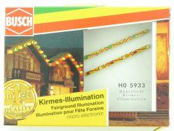 Busch 5933 Kirmes Illumination Beleuchtung Jahrmarkt LEDs H0 OVP