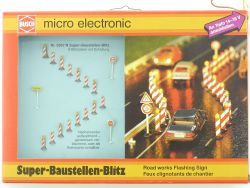 Busch 5957 N Super Baustellen Blitz 8-fach LED Modellbahn  OVP