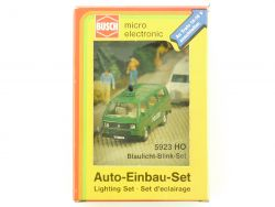 Busch 5923 Blaulicht-Blink Auto-Einbau-Set LED H0 OVP