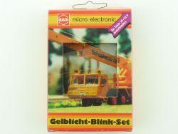 Busch 5918 Gelblicht-Blink-Einbau-Set Modellauto H0 OVP ST