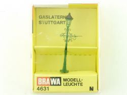 Brawa 4631 Gaslaterne Stuttgart Modellbahn Leuchte Spur N OVP