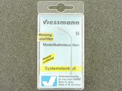Viessmann 6490 Messing Peitschenleuchte 54 mm Spur N OVP ST