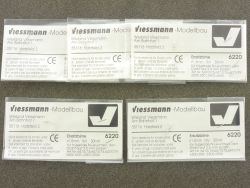 Viessmann 4x 6220 Ersatzbirne 1,8 mm 30 mA Modellbahn Spur N ST
