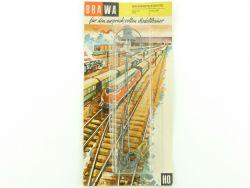 Brawa 547 Bahnhofsleuchte Laterne Gittermast MIB 50er/60er OVP ST