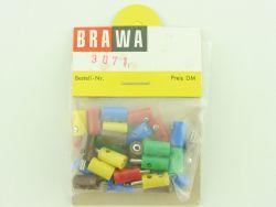 Brawa 3071 Bananenstecker Muffen kompatibel zu Märklin 800  OVP ST