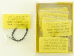 Brawa 9x 3269 3293 Kabelbirne Glühbirne Modellbahn H0 OVP