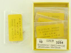 Brawa 10x 3254 Ersatzbirne Glühbirne Modellbahn H0 OVP