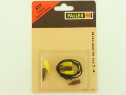 Faller 677 3x Micro Kabelbirnchen Leuchten Kirmes Modellbahn OVP ST