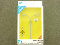 Viessmann 60951 Peitschenleuchte Doppelt LED Modellbahn H0 OVP