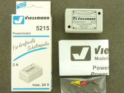 Viessmann 5215 Powermodul Schaltimpulse für Digital Decoder OVP