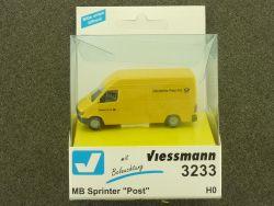 Viessmann 3233 MB Mercedes Sprinter POST Beleuchtung H0 OVP