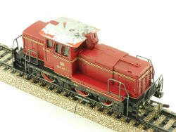Märklin 3065.6 Diesellok BR 260 DB Telex bis auf Dach top!