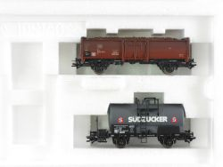 Trix 24065 Wagen-Set Zuckerfabrik Kesselwagen Hochbord KKK OVP