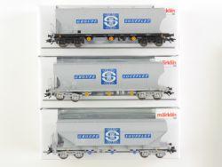 Märklin 46341 Getreidesilowagen-Set Groupe Soufflet SNCF OVP