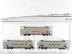 Märklin 46321 Set Silowagen Monfer Cereales SNCF SNCF FS TOP OVP