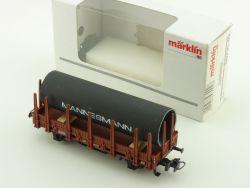Märklin 00750-02 Rungenwagen Mannesmann Röhrenwagen 1:87 OVP