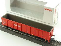 Märklin 00757-05 Hochbordwagen Eanos Railion DB KKK 1:87 OVP