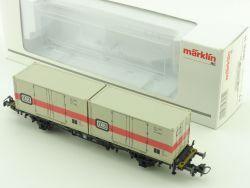 Märklin 00756-14 Container-Tragwagen DB KKK TOP! OVP