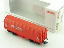 Märklin 00757-23 Schiebeplanenwagen Railion DB KKK 1:87 OVP