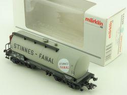 Märklin 46523 Kesselwagen Stinnes Fanal Tank DB 1:87 H0 OVP ST