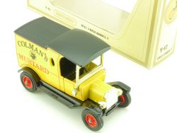 Matchbox Y-12 MOY Yesteryear Ford T Colman's Mustard OVP