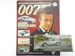 James Bond Collection Heft 1 Aston Martin DB5 Goldfinger   OVP