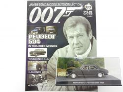 James Bond Collection Heft 83 Peugeot 504 For Your Eyes Only OVP