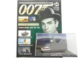 James Bond Collection Heft 84 Dragon Tank Connery 007 Dr No OVP