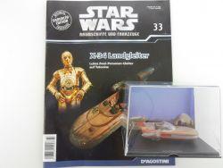 DeAgostini Star Wars Heft #33 X-34 Landgleiter Tattoine Luke OVP