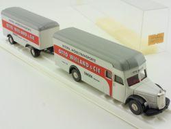 Brekina 5510 MB L 6600 Otto Wieland Möbelwagen LKW HZ 1:87 OVP ST