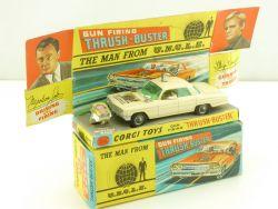 Corgi 497 Man from UNCLE Oldsmobile Super original  white one OVP