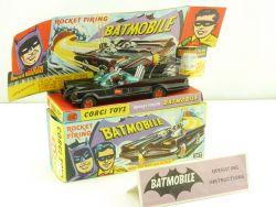 Corgi 267 Batmobile Batman Robin Box Figures all original OVP