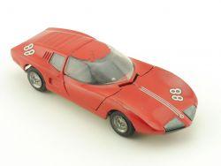 Tekno 930 Monza GT Rot Diecast Modellauto 60er 1:43