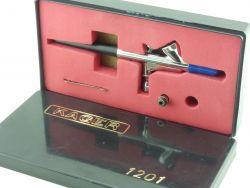 Kager 1201 Airbrush-Set Pistole und Zubehör wie abgebildet  OVP