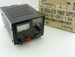 Westfalia Technica 267849 regelbares Netzteil 20V-1,5A 220V OVP