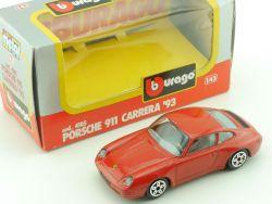 Bburago Burago 4185 Porsche 911 Carrera 1993 1:43 vsc OVP