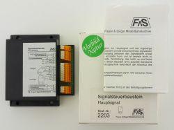 Freyer & Siegel 2203 Signalsteuerbaustein Hauptsignal  OVP