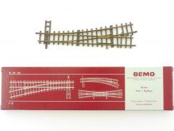Bemo 4211 Weiche links 12° 162,3 mm R 515 Schmalspur H0m OVP ST