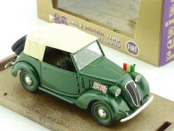 Brumm r86 Fiat 508 C Cabriolet 1100 1937 Militär Militare OVP