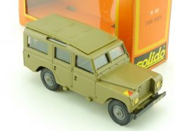 Solido #66 Land Rover 109 Landy Modellauto 1:43 France  OVP