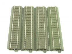 Märklin 24188 4x C-Gleis Gerade Schiene 188 mm H0