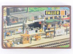 Faller 120182 Ausschmückung Bahnsteig für Bahnhof Lindental  OVP