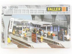 Faller 120186 Ausschmückung Bahnsteig Bausatz für Bahnhof H0 OVP