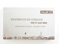 Faller 140442 Deco Crepes Eis mobile Verkaufstände Kit H0 OVP